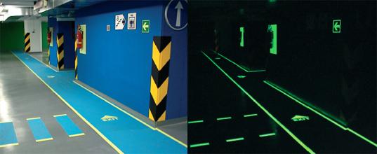 Distributeur Marquage Signalétique Fluorescent Phosphorescent